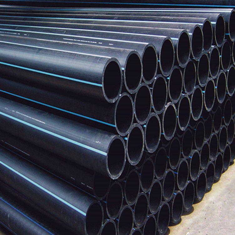 pe 给水管 pe管材 直管规格Φ75-Φ1000  压力1.0Mpa 工厂直发