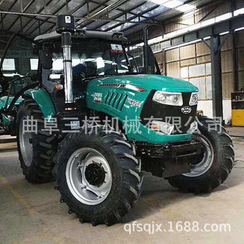 农用大型四轮拖拉机 多缸大马力国三拖拉机 中型拖拉机厂直销