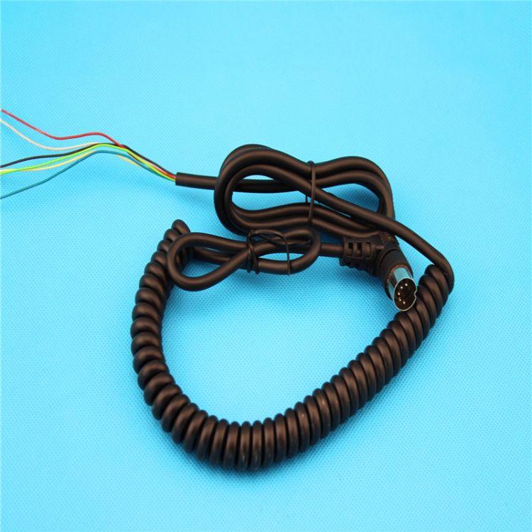 伸缩弹簧电线 pu弹簧线定制 旋转曲线弹簧线 弹簧线生产厂家