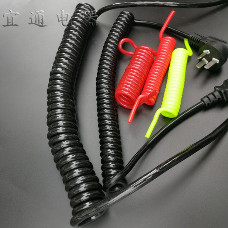厂家直销 各类防丢绳弹簧线 国标弹簧线  英式弹簧线 美式弹簧线