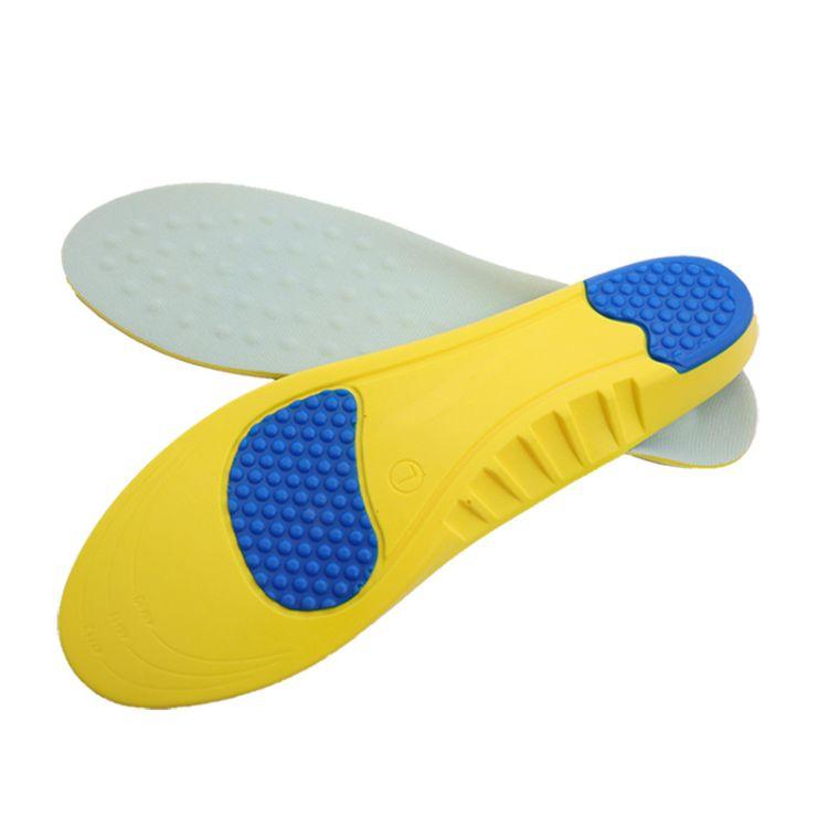 鞋垫 批发男女跑步柔软减震运动鞋垫 rem透气吸汗防臭海绵鞋垫