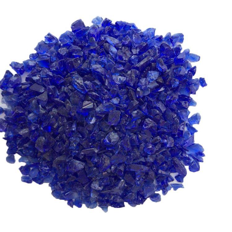 厂家直销水族玻璃珠 地坪专用玻璃砂 彩色玻璃砂 透明玻璃砂