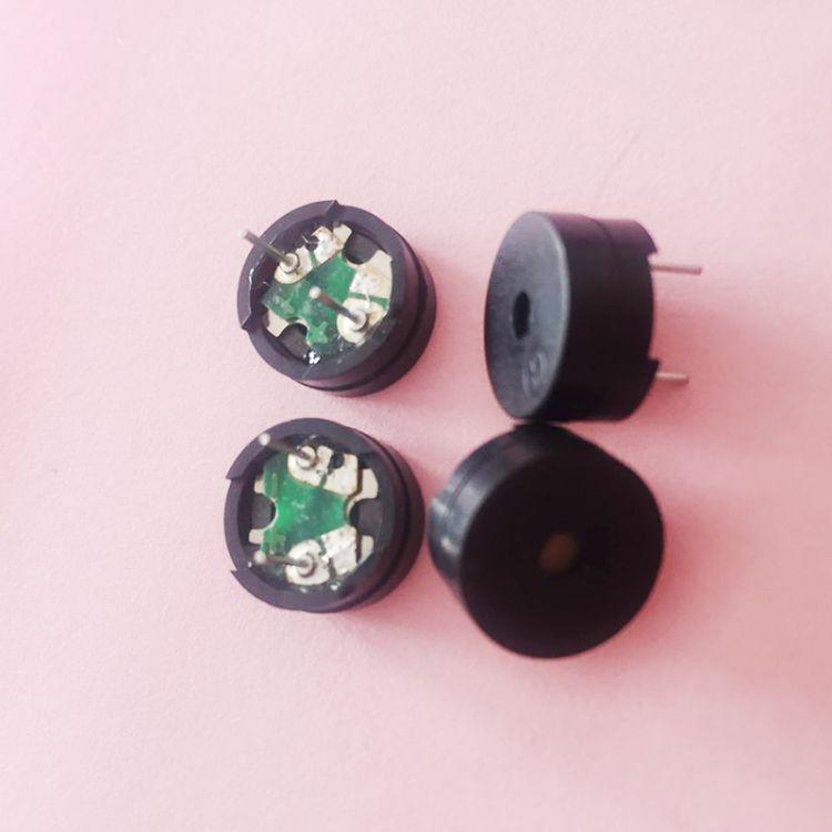 插件蜂鸣器 16欧12060P无源带针蜂鸣器  厂家零售批电声器件