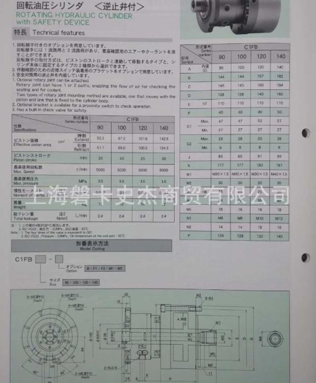 日本丰和 HOWA  C1FB100