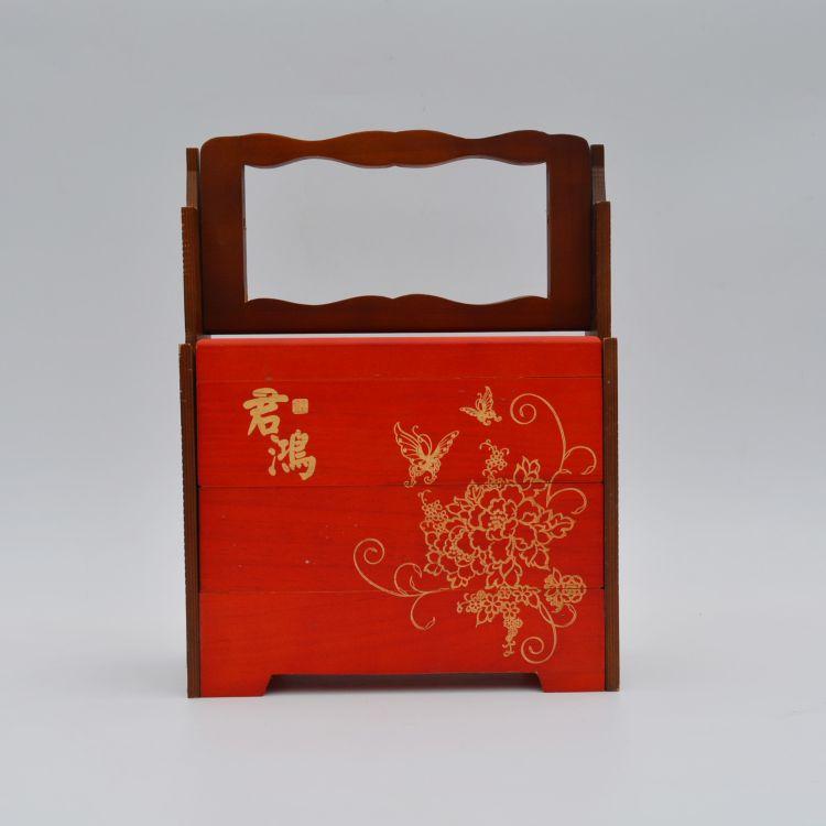 专业供应木制月饼包装盒 食品木盒月饼木制盒