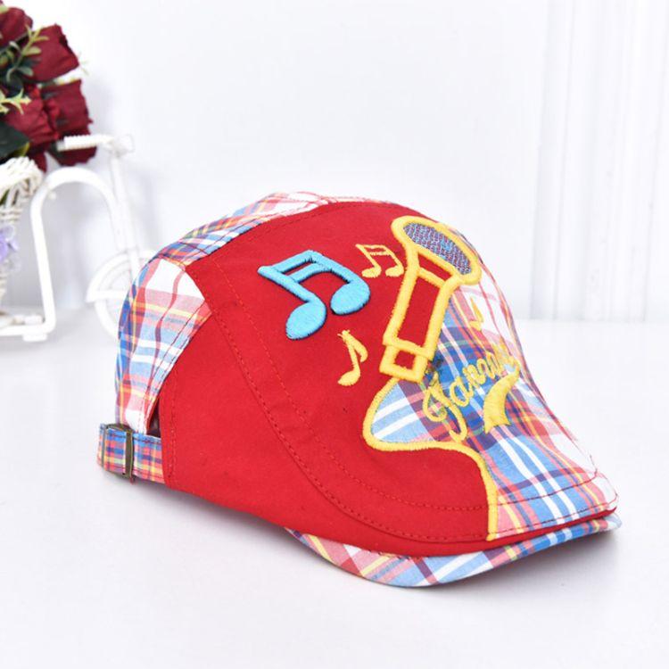 帽子新款儿童休闲帽时尚可爱前进帽户外休闲帽子厂家直销一件代发