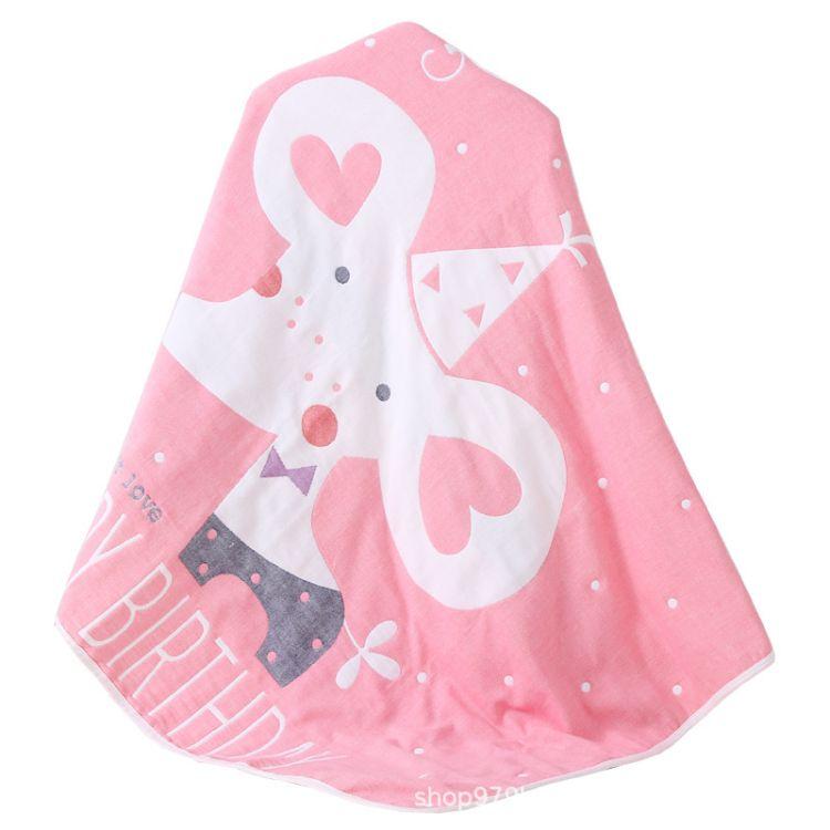 新生儿宝宝抱被纯棉初生婴儿毯子 新生儿毯子包被四用小毯子