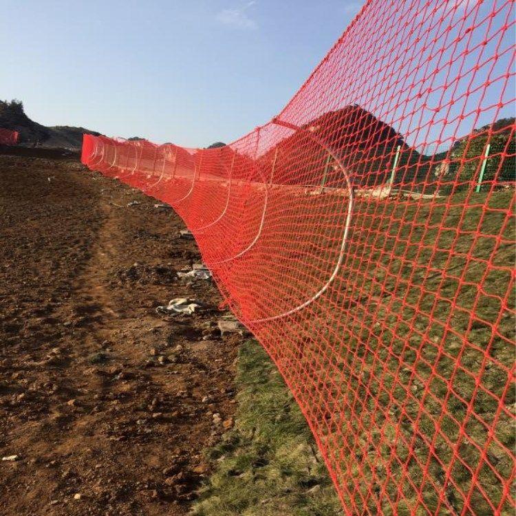 聚乙烯滑雪场专用安全防护网  滑雪场安全防护网  雪场围网