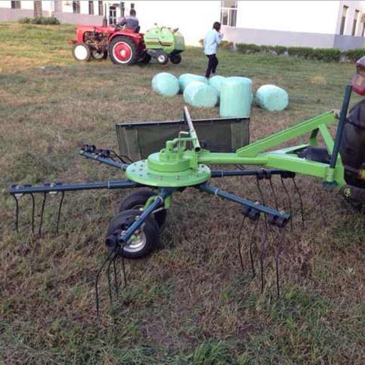 拖拉机牵引2.5米指盘式搂草机摊晒机秸秆稻草牧草翻晒机搂草耙子