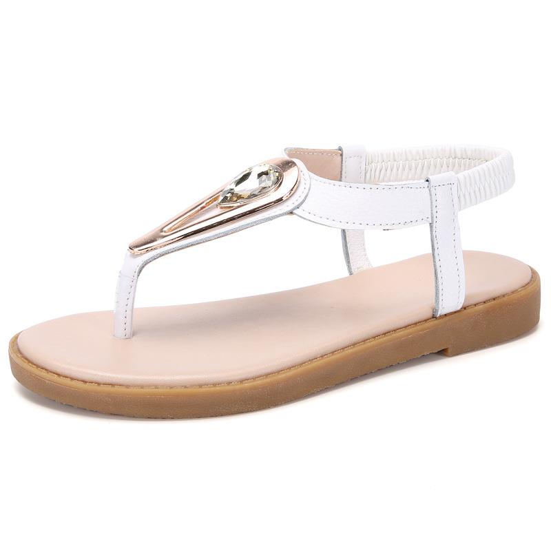 2018夏季新款凉拖鞋 女士人字拖博肯亮片拖鞋沙滩防滑夹脚拖