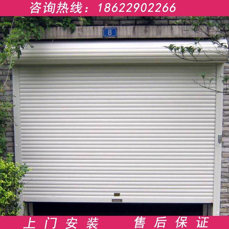 天津安装维修电动手动不锈钢铝合金彩钢板卷帘卷闸电动自动车库门