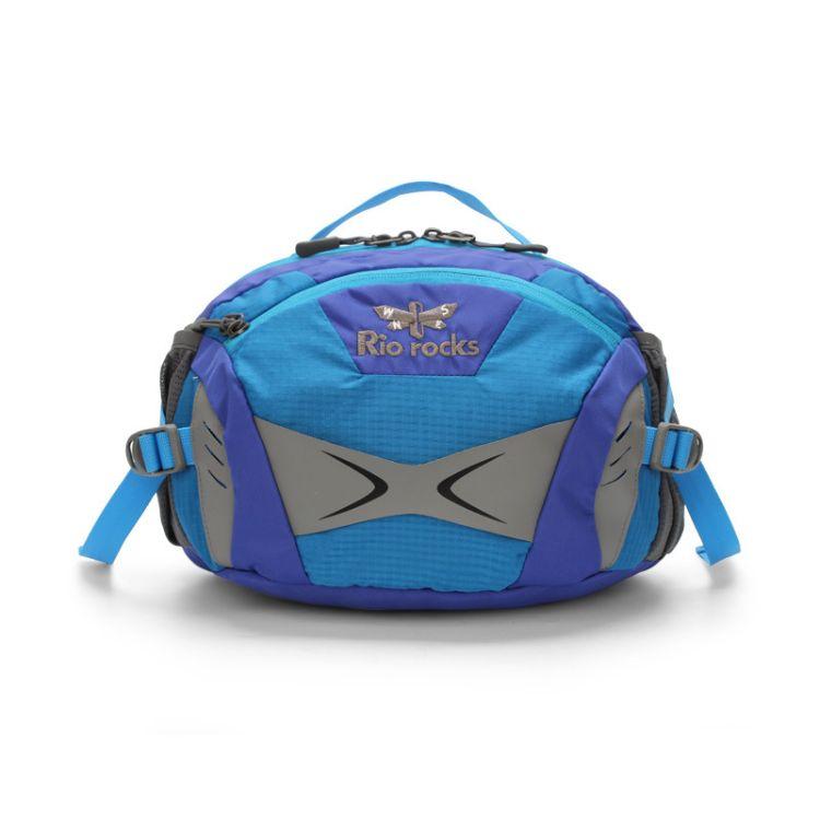 新款户外运动腰包户外休闲包专业登山包配件包防泼水多功能