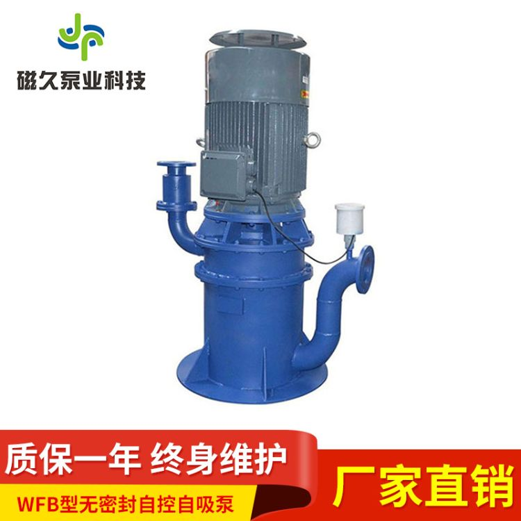 厂家直销WFB型不锈钢无密封自控自吸泵大流量自吸泵污水泵