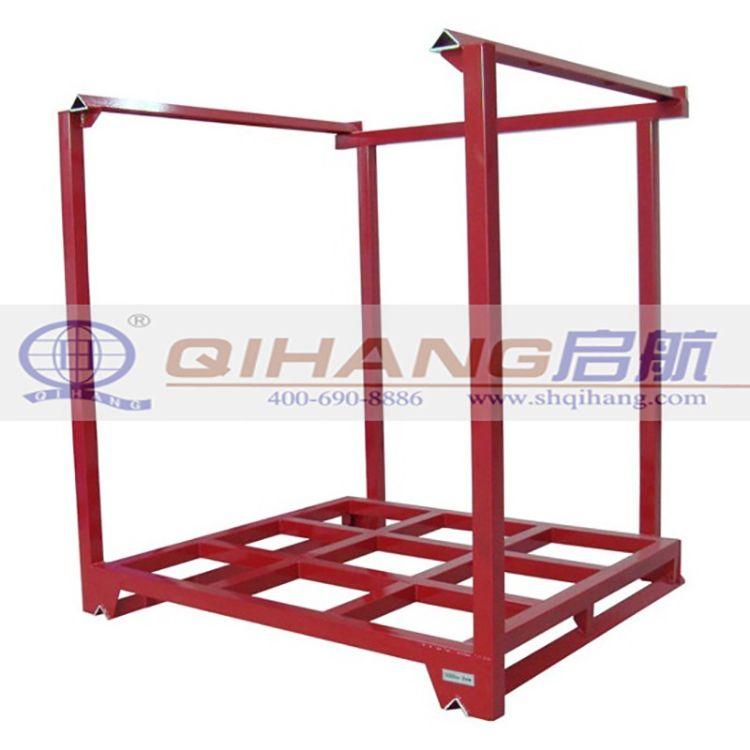 堆垛架 巧固架 钢制堆垛式货架 钢管架 可拆式货架