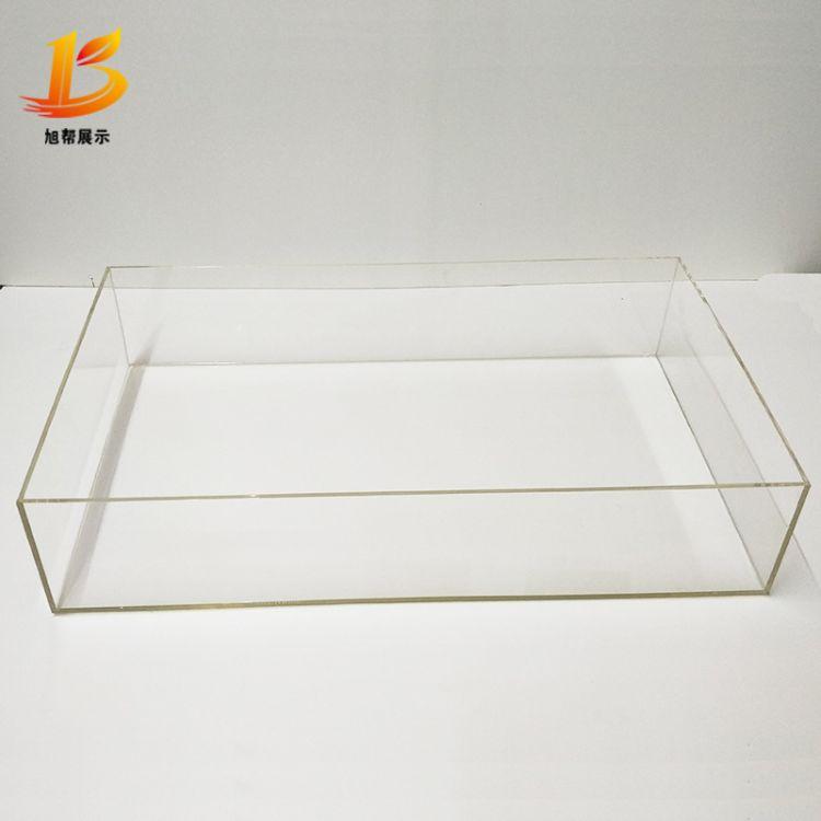 厂家直销亚克力盒子亚克力收纳盒化妆盒亚克力长方形有机玻璃盒