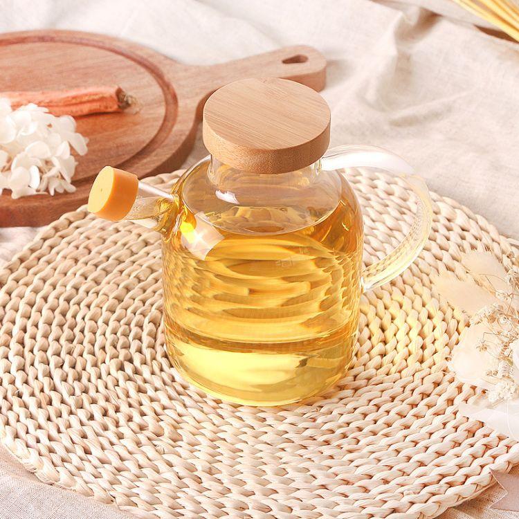 玻璃油壶大号装油调味瓶香油瓶厨房用品防漏油罐醋壶酱