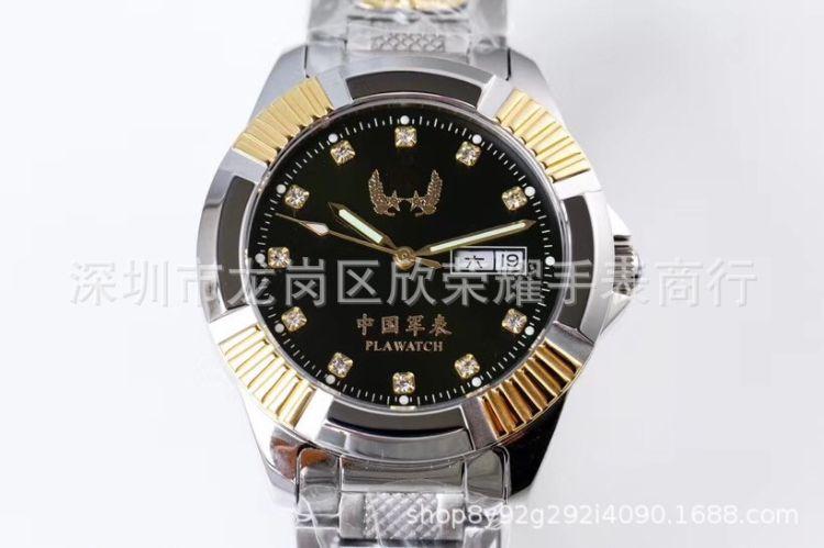 正品指挥官 中国军表一号  瑞士进口全自动机械 商务防水男士手表