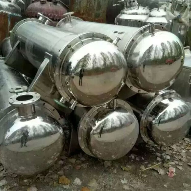 厂家转让不锈钢列管式换热器 不锈钢列管式冷却器304列管式冷凝器