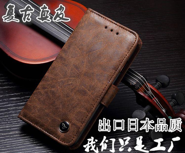 新款诺基亚N206复古磨砂真皮 插卡相框手机皮套N206磨砂手机壳