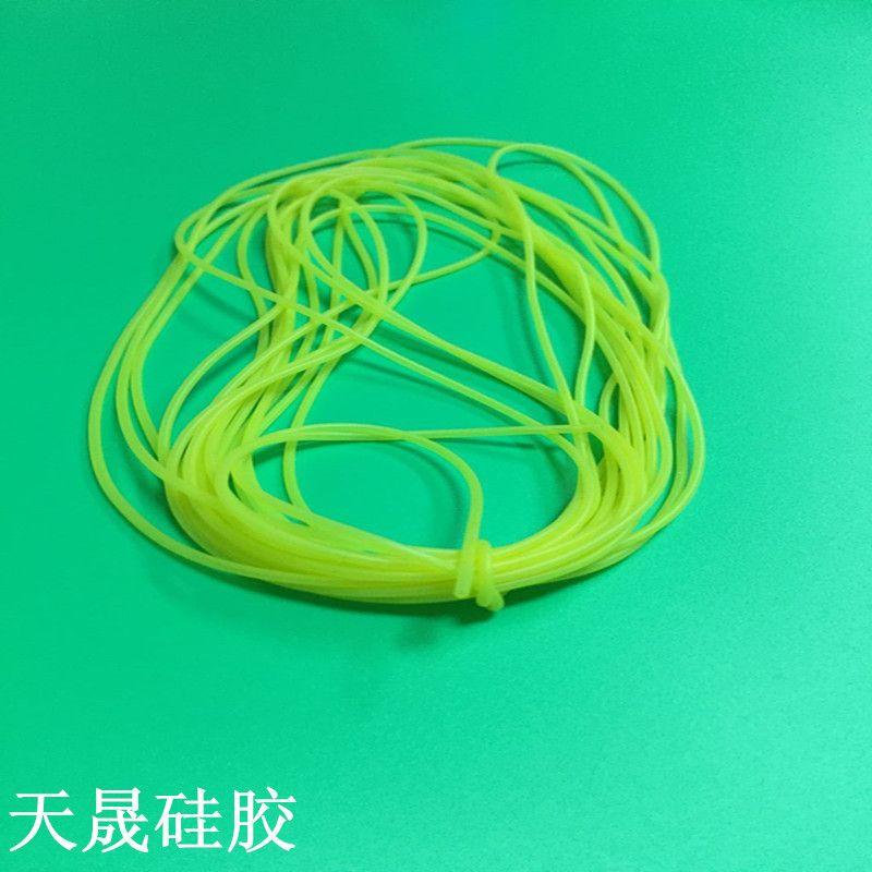 供应硅胶环保无毒医用级硅胶管 毛细管 高透明进口硅胶管