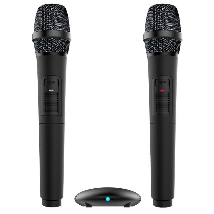 批发天籁k歌手持智能麦克风mm-3d双无线话筒创维 tcl海尔电视专用