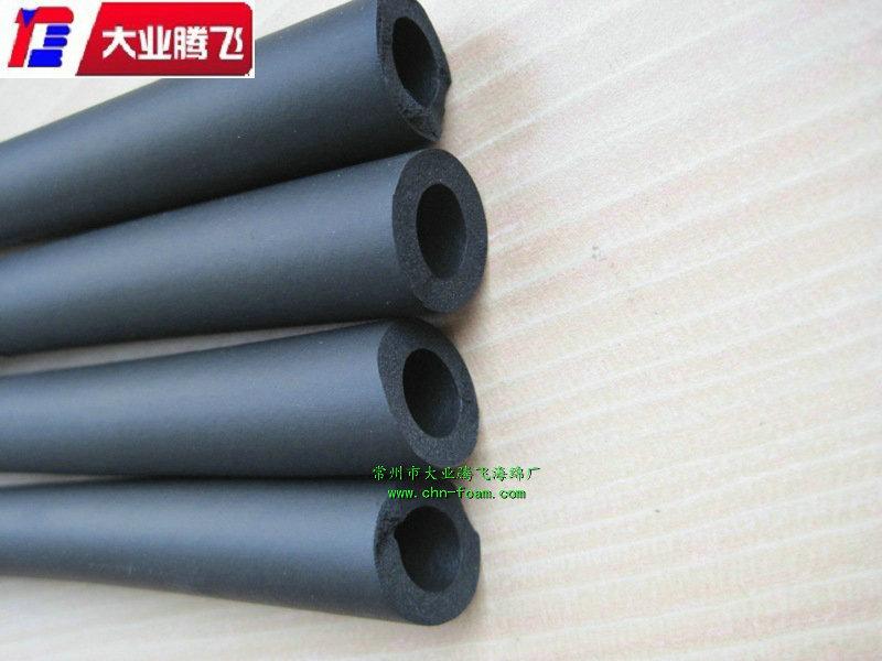 厂家供应 隔热橡塑保温管  NBR保温海绵管  高密度B1级阻燃海绵管