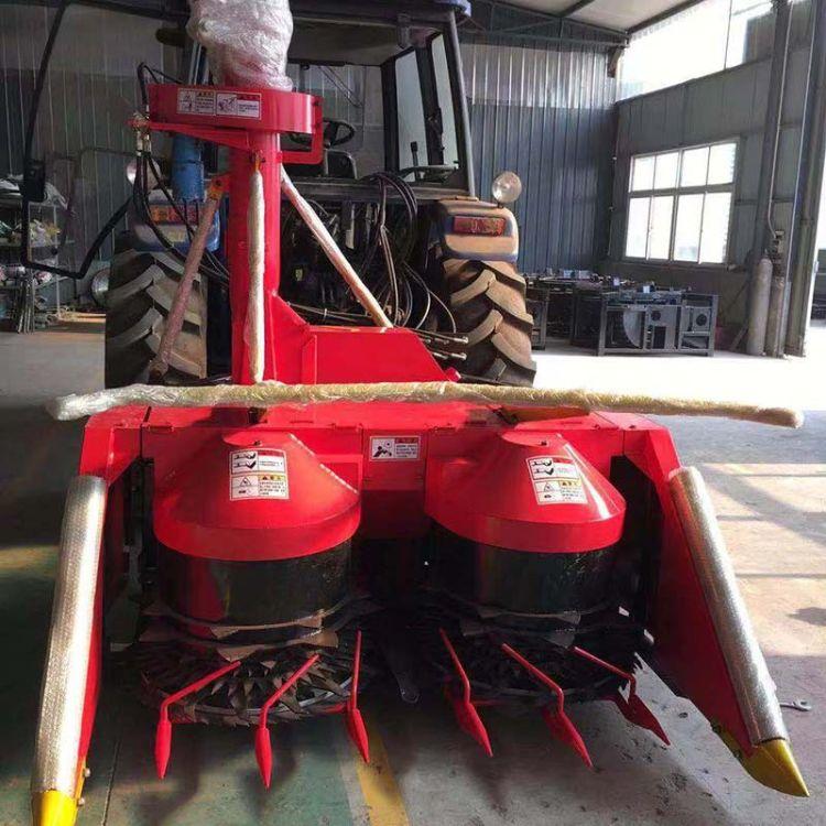 厂家生产青饲料收货机 大型农场用玉米收割机 牧草稻草收获机