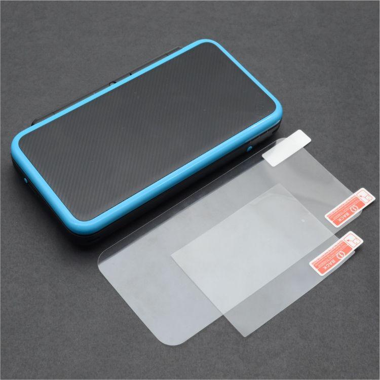 New 2DSXL New 2DSLL 保护膜 保护�N 创念品牌 高清材料