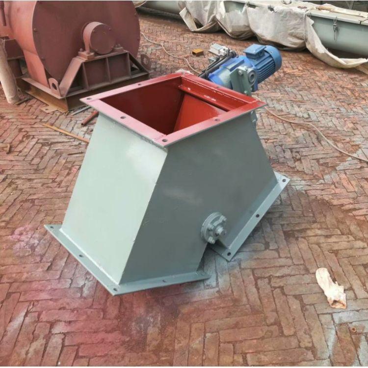 锐鑫定制 电液动扇形三通分料器 进料口三通翻板阀 Y型换向阀直销