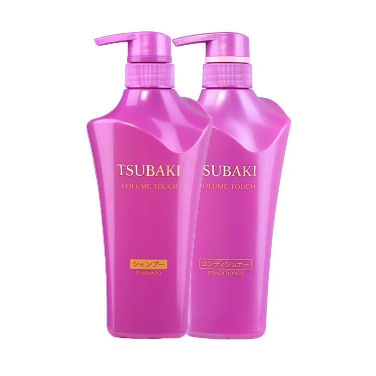 日本丝蓓绮(TSUBAKI) 紫椿洗发水护发素组合套装500ml支