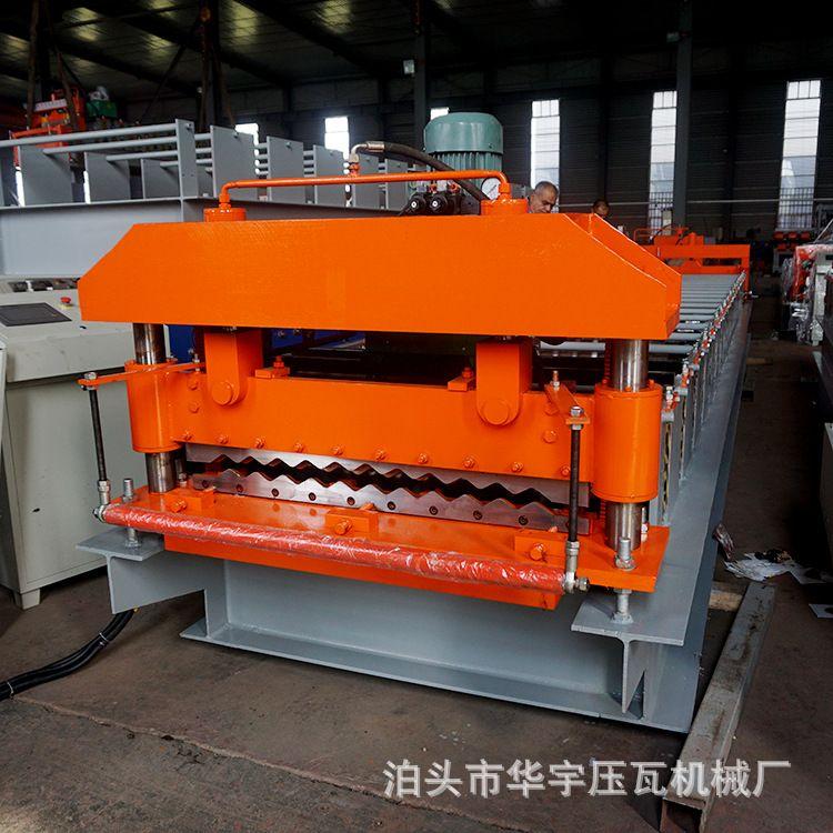 波浪瓦 出口波浪瓦机760波浪压瓦机槽钢机 装饰板 隔热瓦