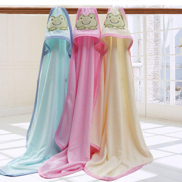2018新款竹纤维抱被新生婴幼儿柔软冰凉包巾厂家直销抱毯一件代发