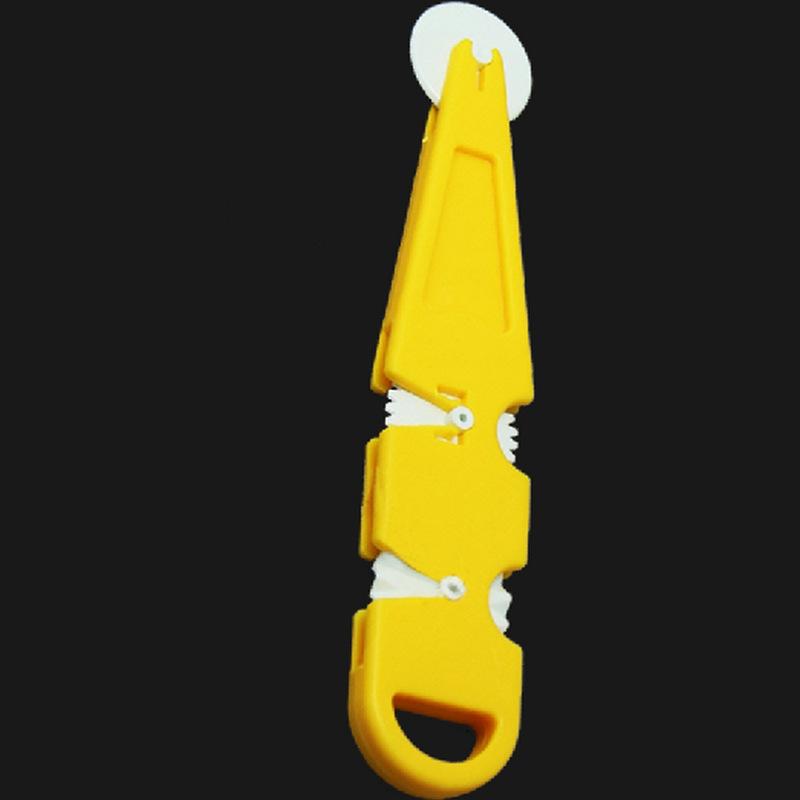 DIY翻糖蛋糕工具 黄色3pcs切割滚轮滚刀 翻糖蛋糕糖皮环切压花器