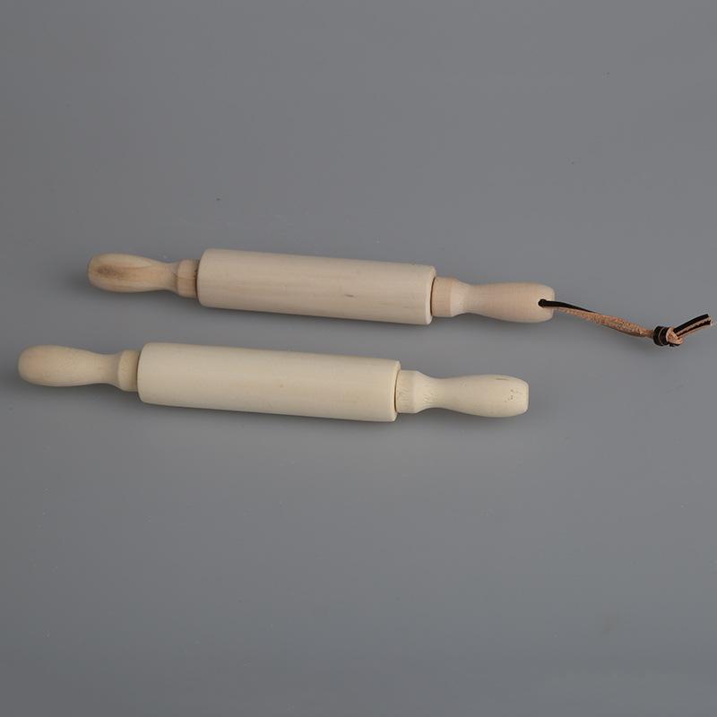 厂家直销枫木漂白儿童擀面杖 活动小面棍 迷你木面棍 DIY烘焙工具