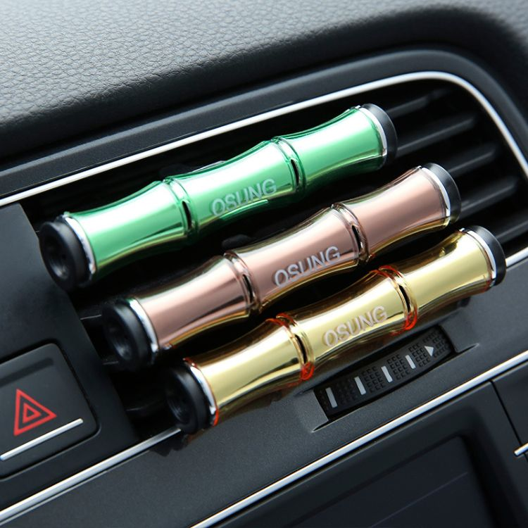 新款汽车出风口香水车内净化风口固体香膏淡香持久香氛杀菌除臭