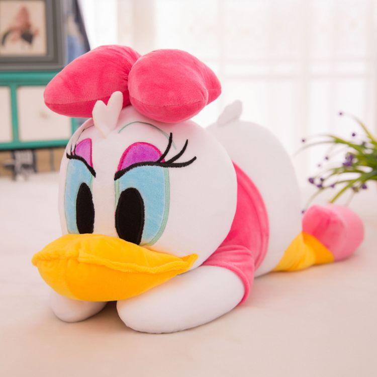 可爱鸭子公仔毛绒玩具 小鸭子儿童卡通玩偶礼物 黄色鸭子毛绒玩具
