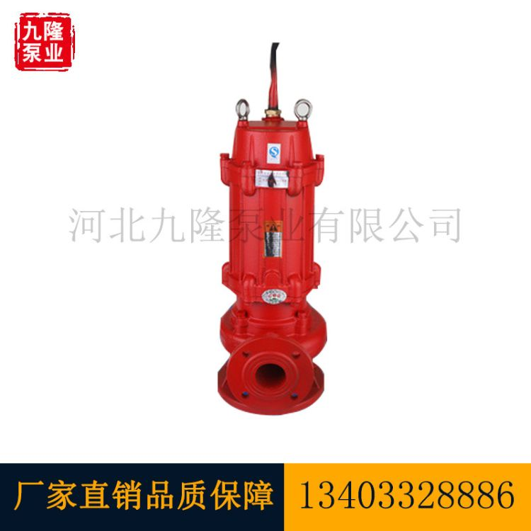 潜污泵  WQ系列潜水排污泵 防缠绕无堵塞  污水泵 立式潜水泥浆泵
