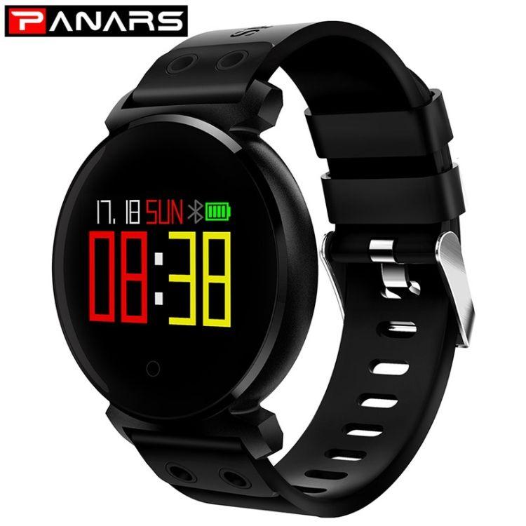 PANARS手环心率血压监测运动计步心电手环 智能健康穿戴硅胶手环