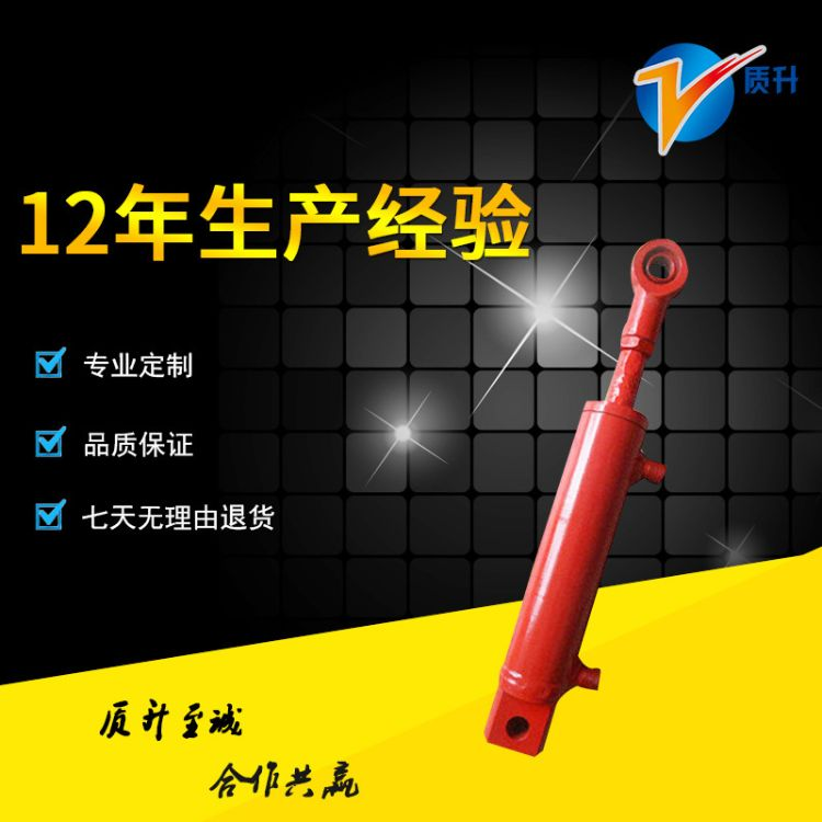 40*25型油缸 双耳环伸缩式液压油缸 转向油缸 非标液压油缸