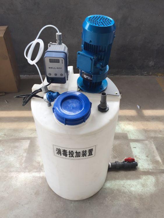 自动加药装置-一体化搅拌装置-PAMPAC投加装置操作简单实用