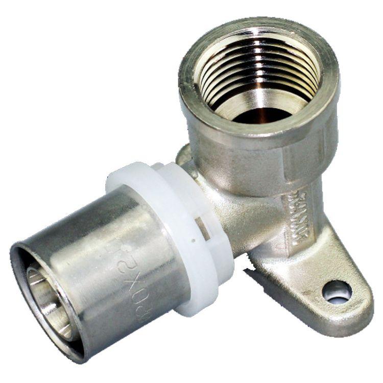 黄铜卡压管件  U型 等径异径弯头 16 20 25 32 欧洲标准