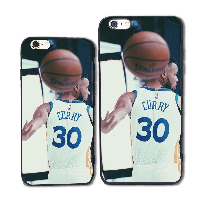 篮球明星KOBE库里手机壳苹果iphone8卡通欧美定制速卖通外贸爆款