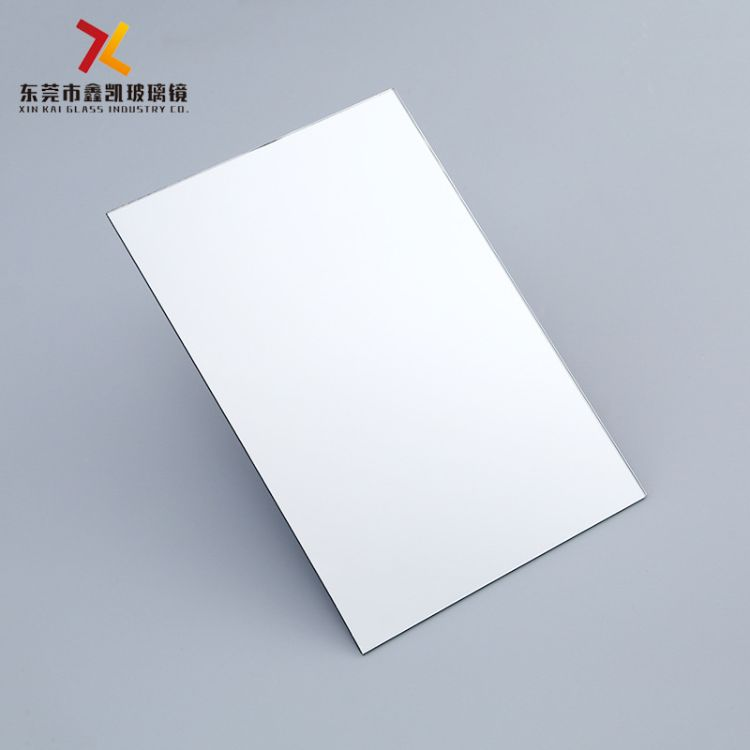 定制各尺寸厚度方形玻璃镜片 梳妆盒化妆镜眼影盒镜子批量加工