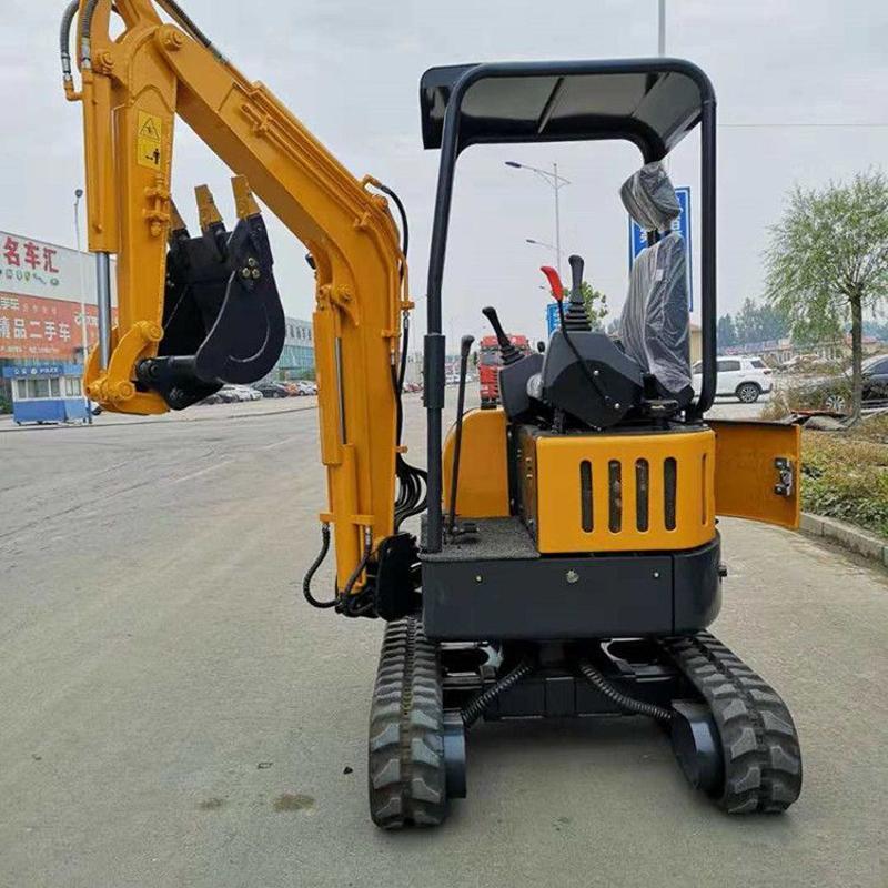 洋马动力20型挖掘机 云南农用小型挖掘机 液压微型挖掘机