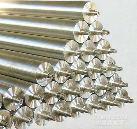供应特氟龙导布辊 钢辊滚筒