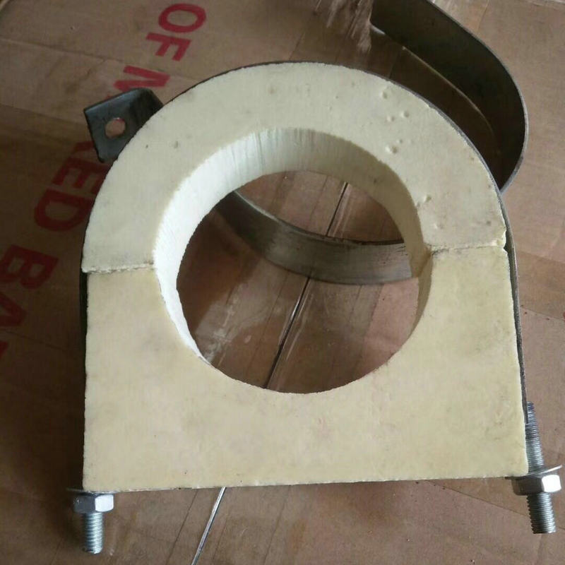 空调管道木托铁卡 化工管道保冷管托空调风管垫木