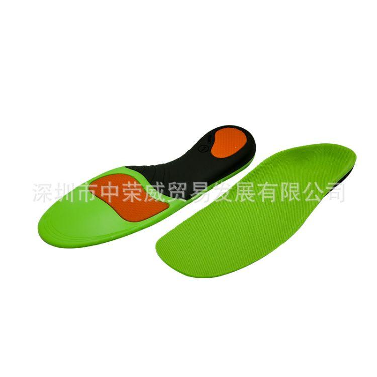 ZRWE18矫正鞋垫扁平足内八字运动减震防滑吸汗透气防臭鞋垫可定做