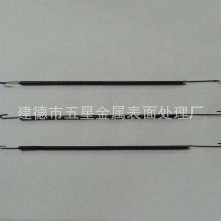 厂家批发锰钢拉伸弹簧 电镀拉伸弹簧 圆柱拉伸弹簧