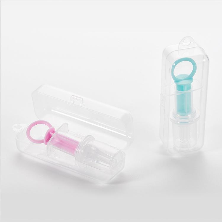 针筒喂药器儿童喂药器带收纳盒母婴用品针筒奶嘴式母婴用品批发