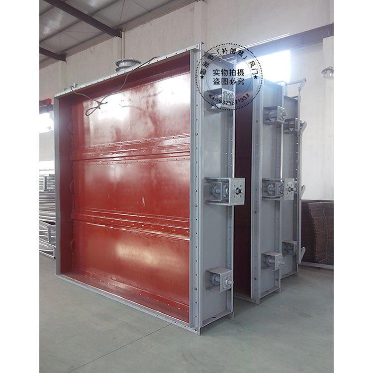 生产供应 脱硫内衬不锈钢防腐挡板门 D-LD2000标准 非标定制